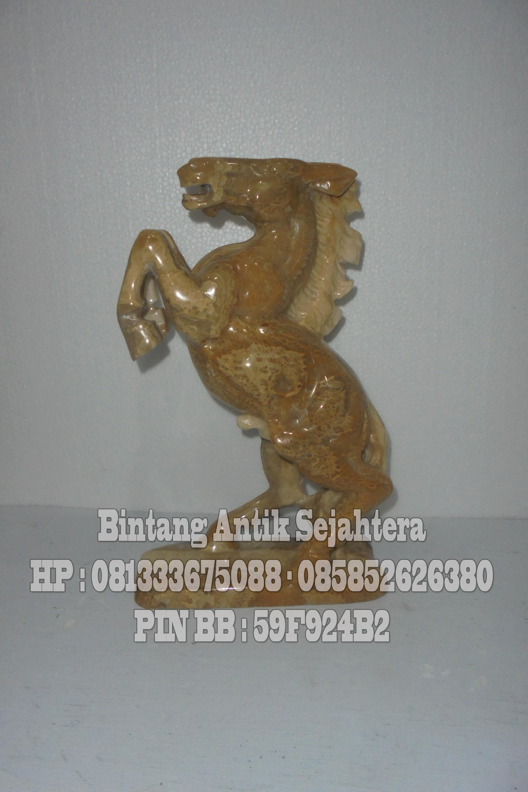 Patung Kuda | Patung Kuda Batu Onix