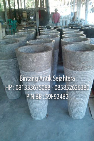 Pedestal Batu Marmer Murah