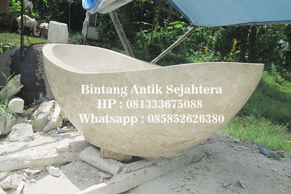 jual bathtub marmer