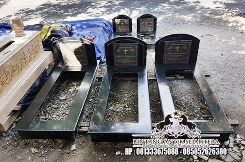 Makam Granit Kristen, Contoh Makam Keramik Kristen