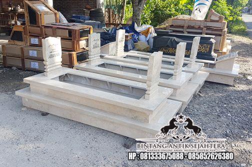 Harga Kijing Makam Sederhana | Contoh Makam Keramik