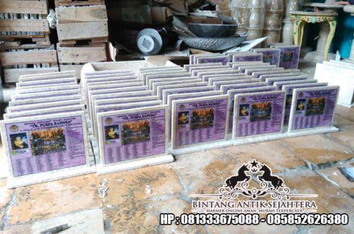 Contoh Plakat Kenang Kenangan   Plakat Marmer Surabaya