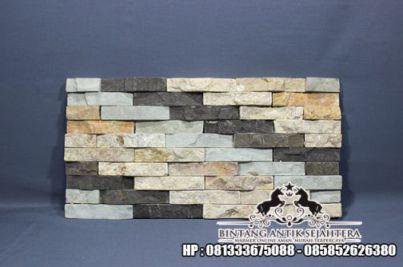 Wall Cladding Batu Andesit, Batu Alam Untuk Dinding