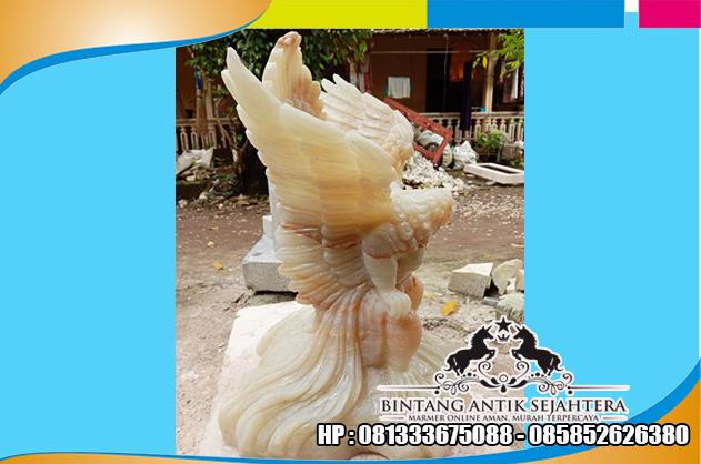 Jual Patung Jatayu Onyx Bahan Karakteristik Tembus Cahaya