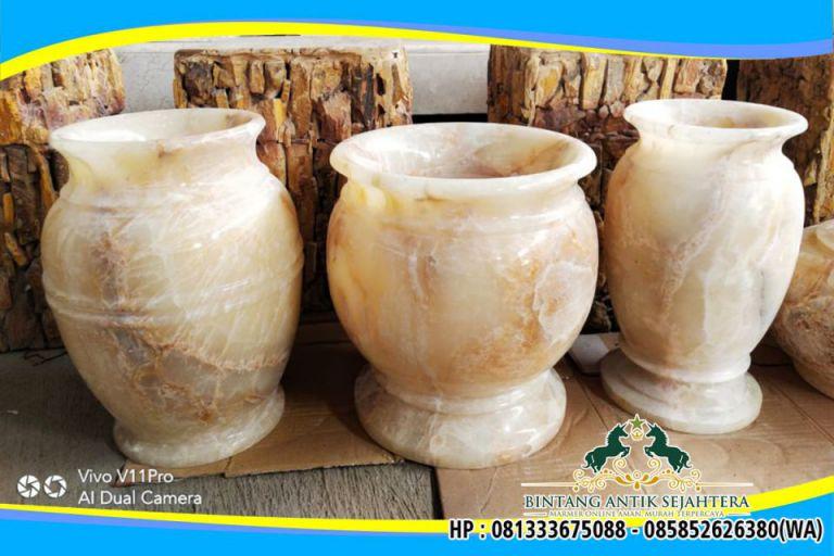 Vas Batu Onyx Produk Unggulan Tulungagung