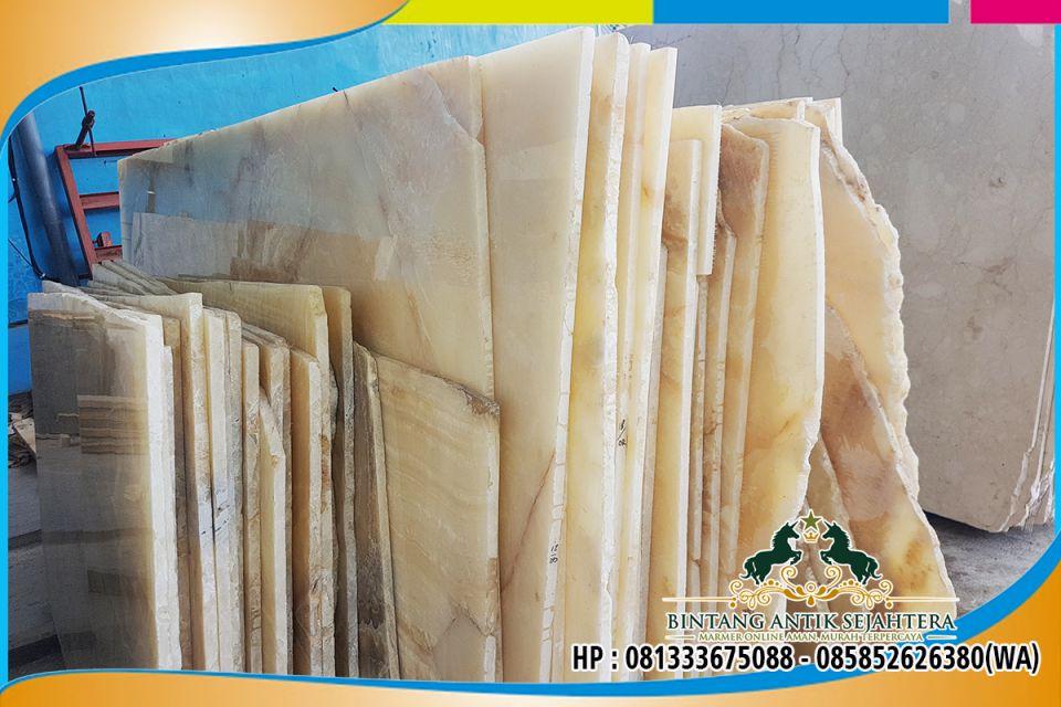 Marmer Onyx Tulungagung | Harga Marmer Onyx Per Meter